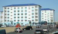 Новое строительство города Атырау