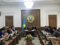 There has taken place the expanded meeting on obtaining by customers of construction of permission to issues to the environment, according to the made changes in the Ecological Code of the Republic of Kazakhstan in Almaty.