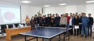 CHARITABLE TABLE TENNIS TOURNAMENT