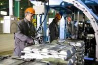 в Павлодаре строится завод по производству обожженных анодов