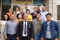 Бас директордың «Мемсараптама» РМК Батыс өңірі бойынша филиалына келуі туралы